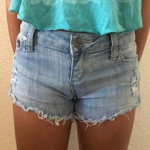 Denim shorts from Tilly's